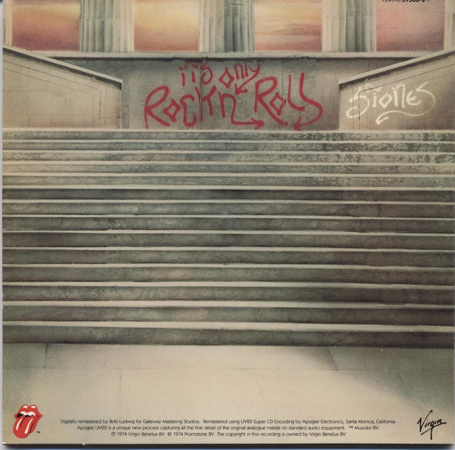 The Rolling Stones Its Only Rock And Roll It s only rock n roll - cdRolling Stones Its Only Rock And Roll
