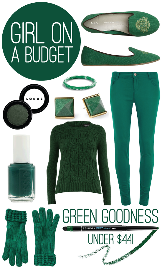 Girl on a Budget | Green Goodness under $44!