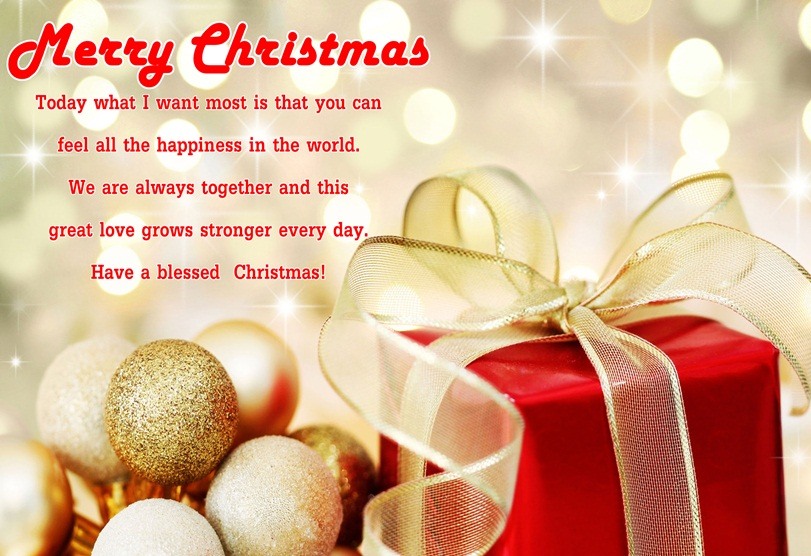 Romantic Christmas Love Wishes & Messages for Her & Him - Merry ...