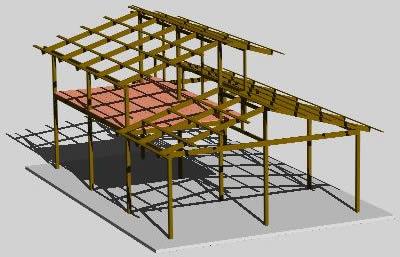 Mis proyectos tecnoinformaticos casa estructura - Estructura casa madera ...
