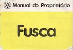 MANUAL FUSCA 1982