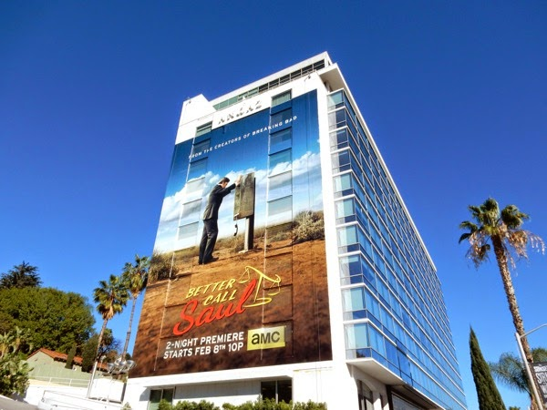 Giant Better Call Saul season 1 billboard