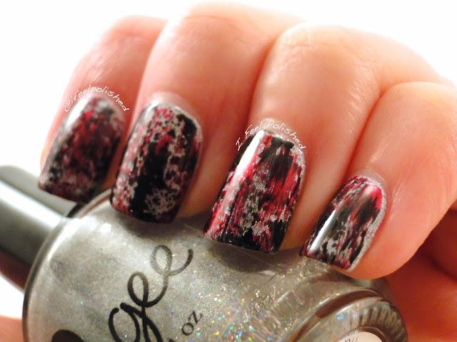 Distressed Nail Art