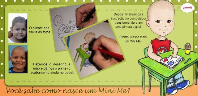 Caricatura, ilustração, desenho Mini Me