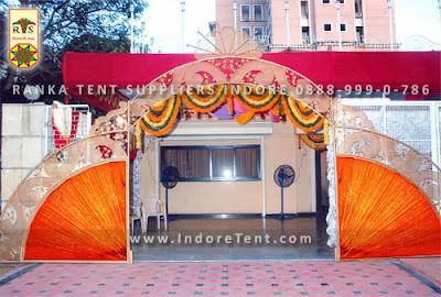 Wedding Gate Decoration & Wedding Gate Decoration | Ranka Tent Suppliers