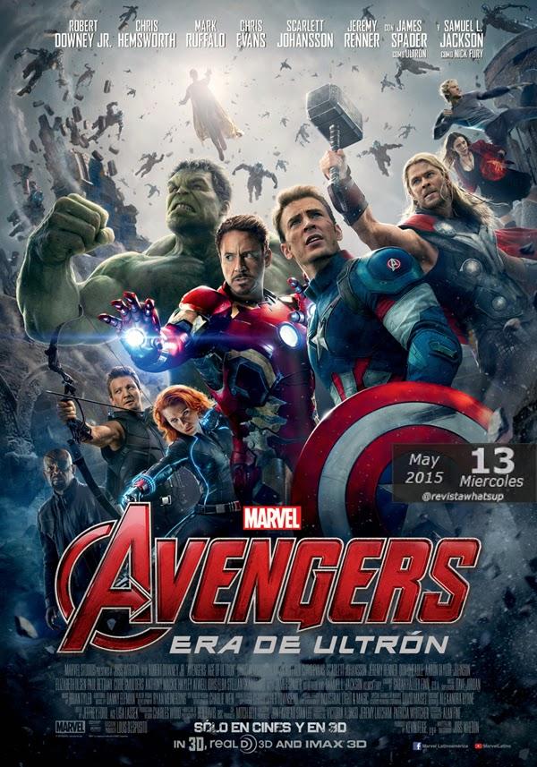 AVENGERS-ERA-DE-ULTRÓN-Marvel-mejor-estreno-historia-Colombia-primera-semana-cartelera