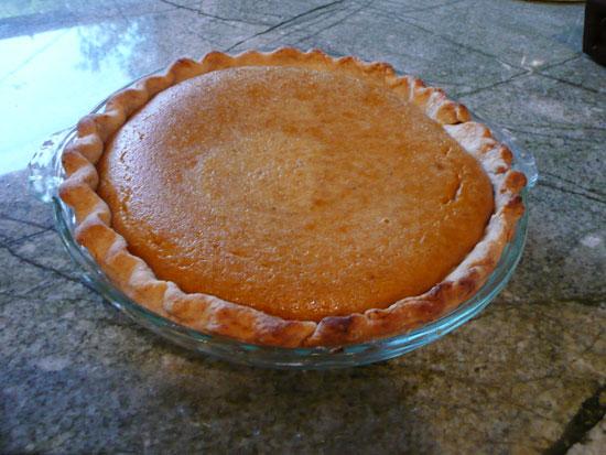 vintage pumpkin pie recipe by Lady by Choice