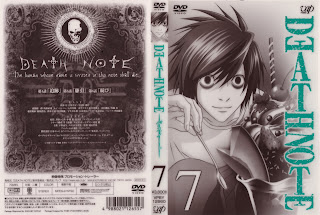 Death Note dvd covers