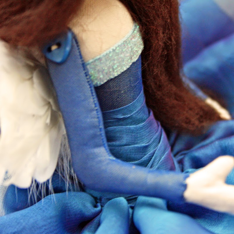 fairy angel cloth art doll
