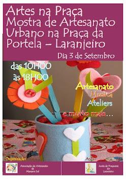 ARTES NA PRAÇA - 3 DE SETEMBRO