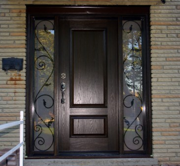 Composites philippines fiberglass doors - Wall in front of main door ...