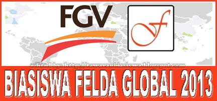 Tawaran Biasiswa Felda Global Ventures Holdings Berhad untuk pengajian Luar Negara