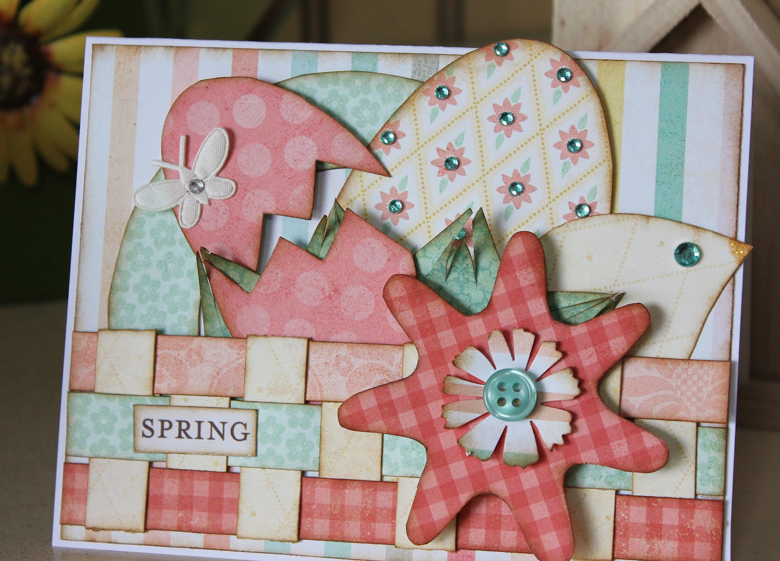Card Making Ideas Easter Part - 40: Adorable Easter Cards | Kiwi Lane