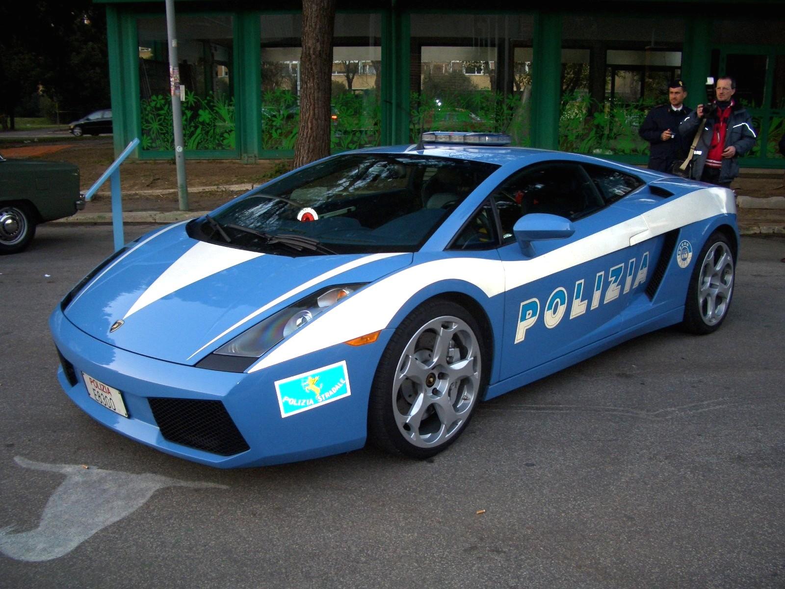 camionetas de lujo PREFERIDA de los NARCOS Lamborghini_Polizia