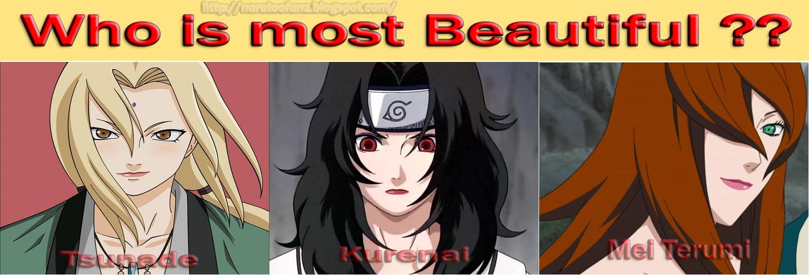 Beautiful Women in Naruto