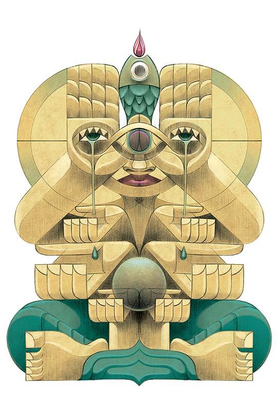 Ilustración de Jorge Lewis Morales