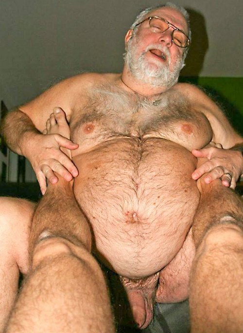 Mature Burly Naked Man Biker