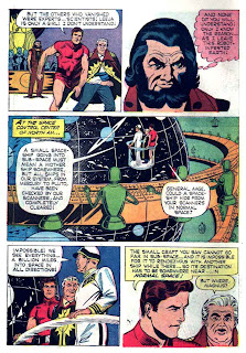 Magnus Robot Fighter v1 #13 gold key silver age 1960s comic book page art by Russ Manning