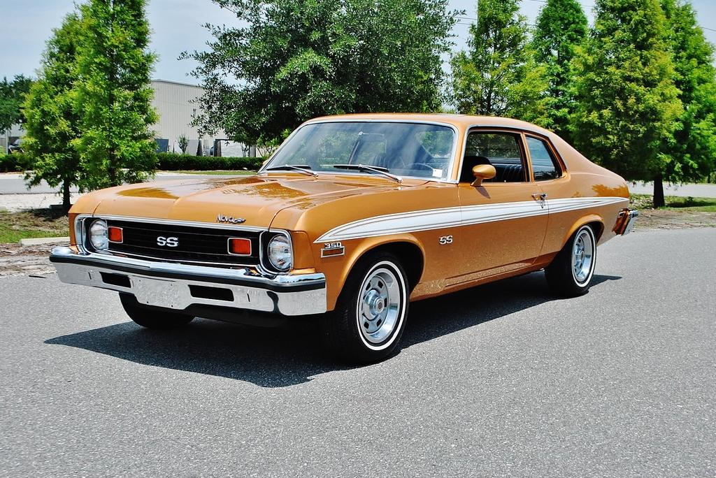 All American Classic Cars 1973 Chevrolet Nova Ss 2 Door Coupe