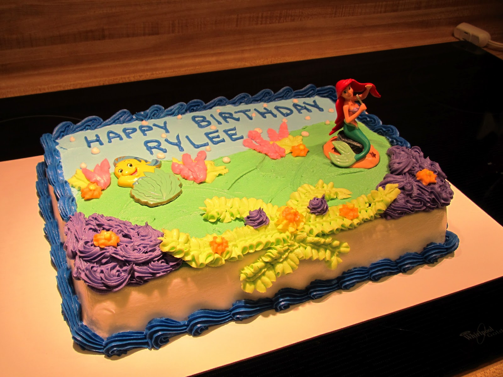 The Ozinga Outlook The Little Mermaid Ariel Birthday Cake