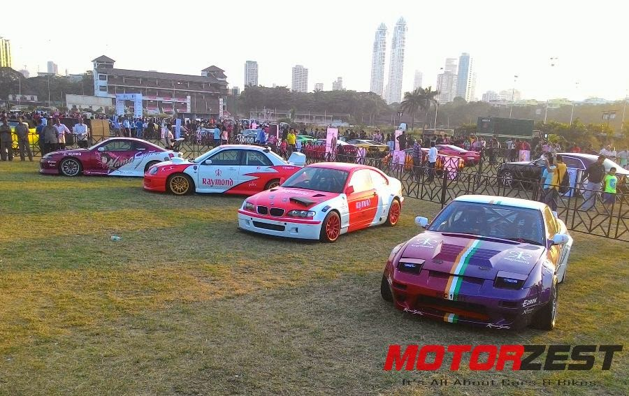 gautam singhania race cars at 2015 Parx Super Car Show in Mumbai