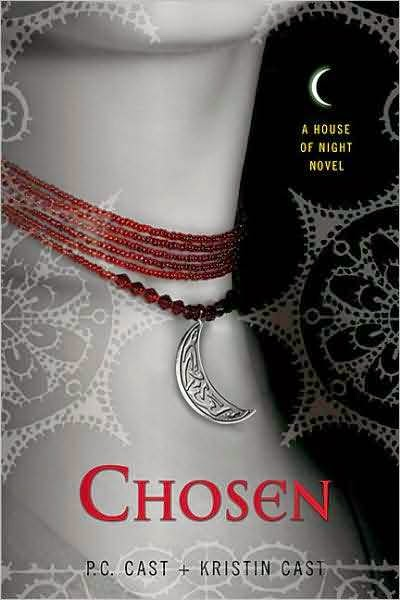 House of Night Series Chosen by P.C. Cast and Kristin Cast border