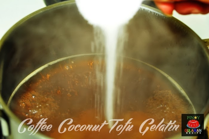 COFFEE COCONUT TOFU GELATIN