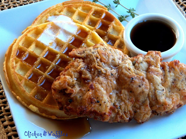 Comfy Cuisine: Chicken Fried Chicken & Waffles