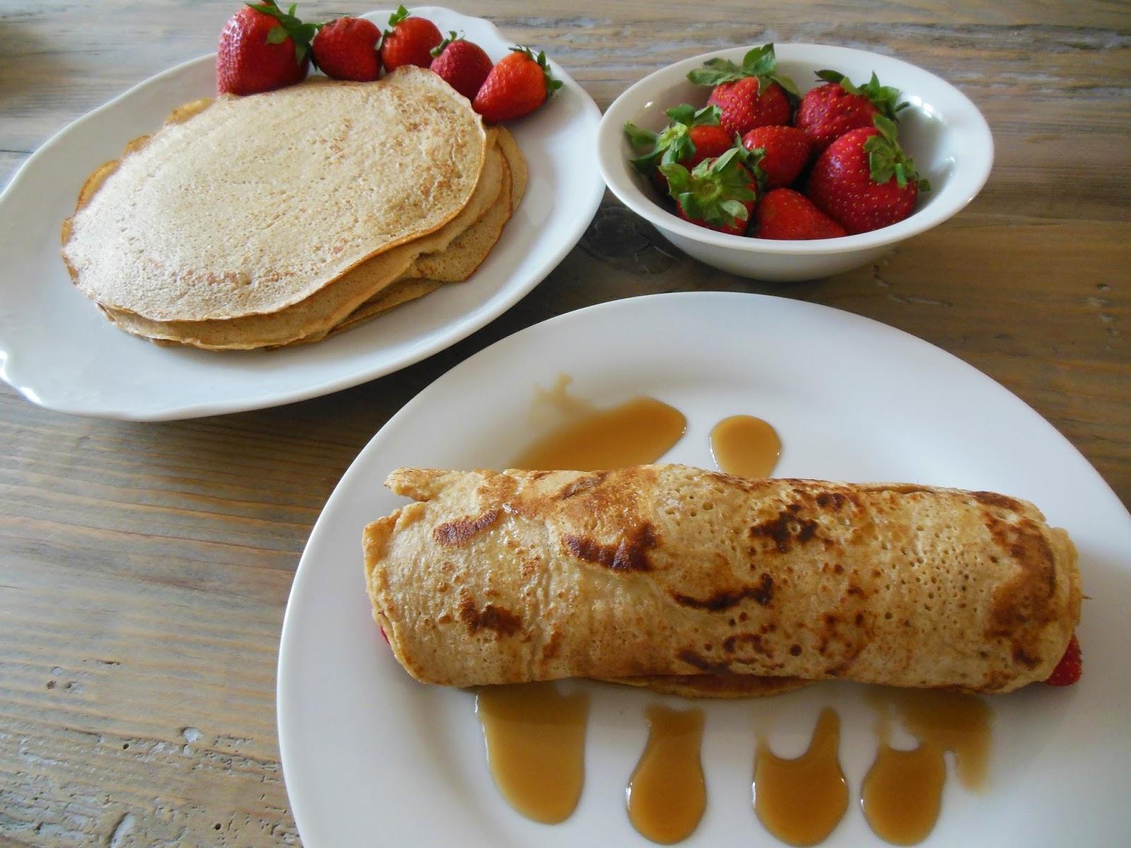 Avena y canela crepes integrales whole grain crepes - Ingredientes para crepes ...