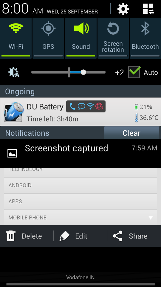 How to Capture ScreenShot with Samsung Galaxy S4 Mini