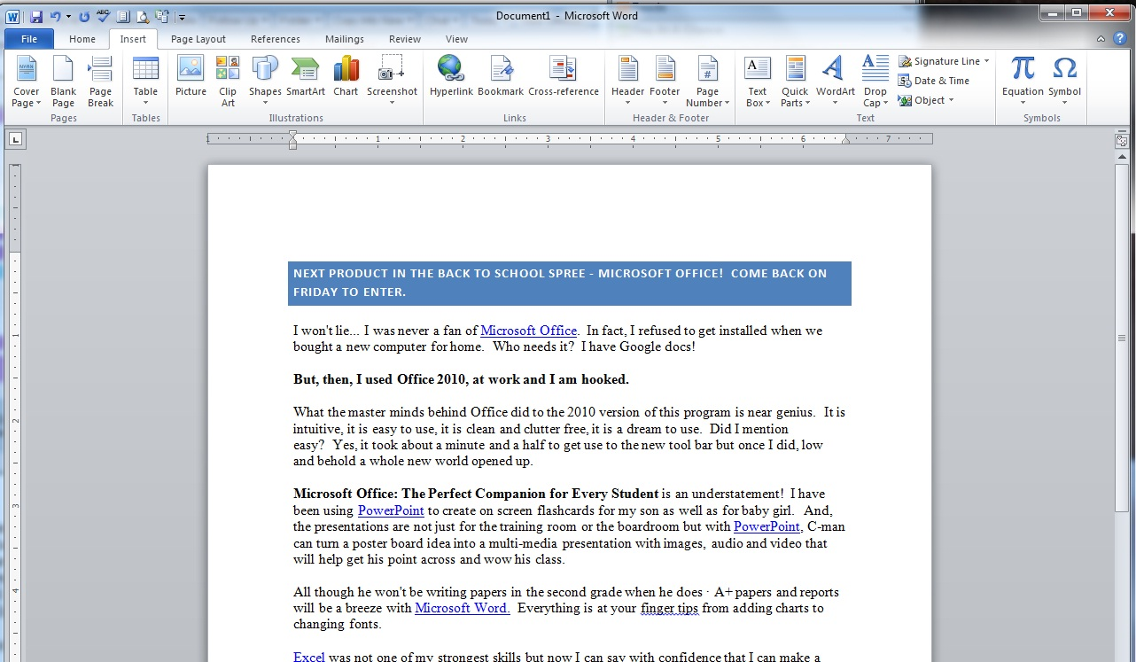 how to learn microsoft office on my own