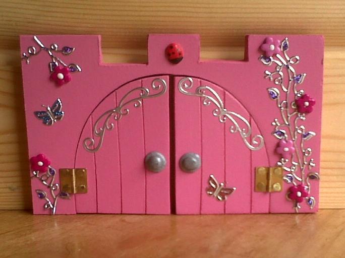 Princess door disney princess door decoration sc 1 st for Amazon uk fairy doors