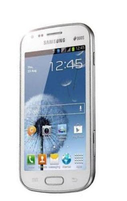 white Samsung galaxy s Duos