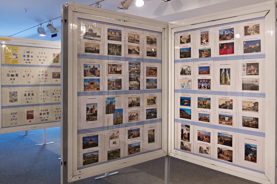 Exposición filatélica en Avilés