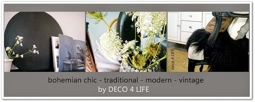 d e c o 4 l i f e - a happy mix and match of bohemian, vintage and modern style