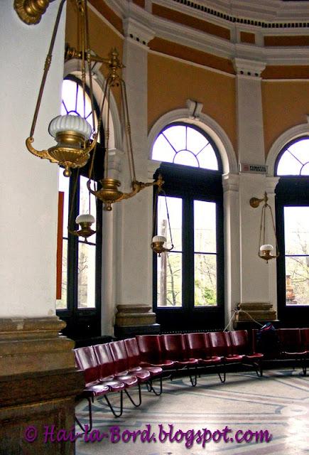 interior gara baile herculane