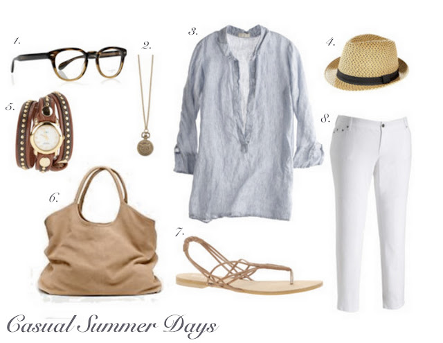 casual summer outfit inspiration