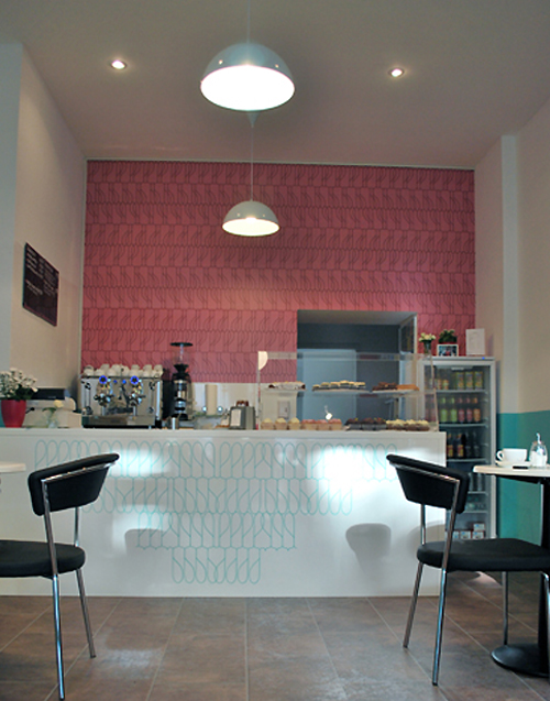 in design magz small coffee shop design with retro