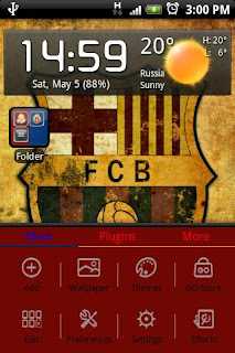 tema fc barcelona android