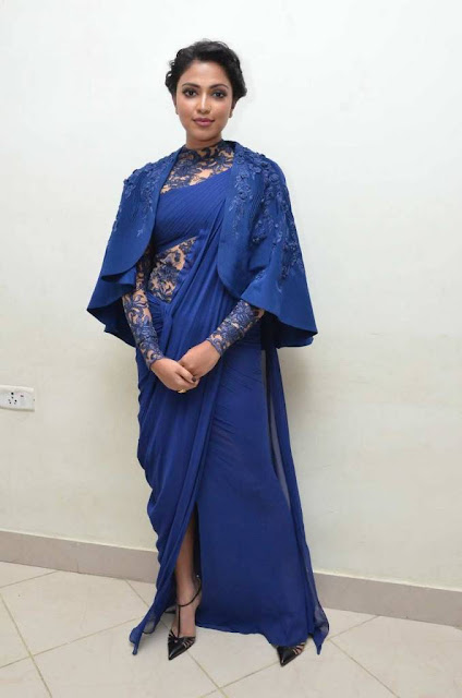Amala paul New costume Blue Memu