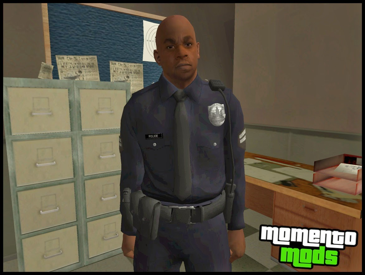 GTA SA - Pack Skins Da Policia Do GTA V