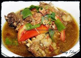 resep praktis (mudah) membuat masakan khas pindang tulang ala palembang enak, lezat
