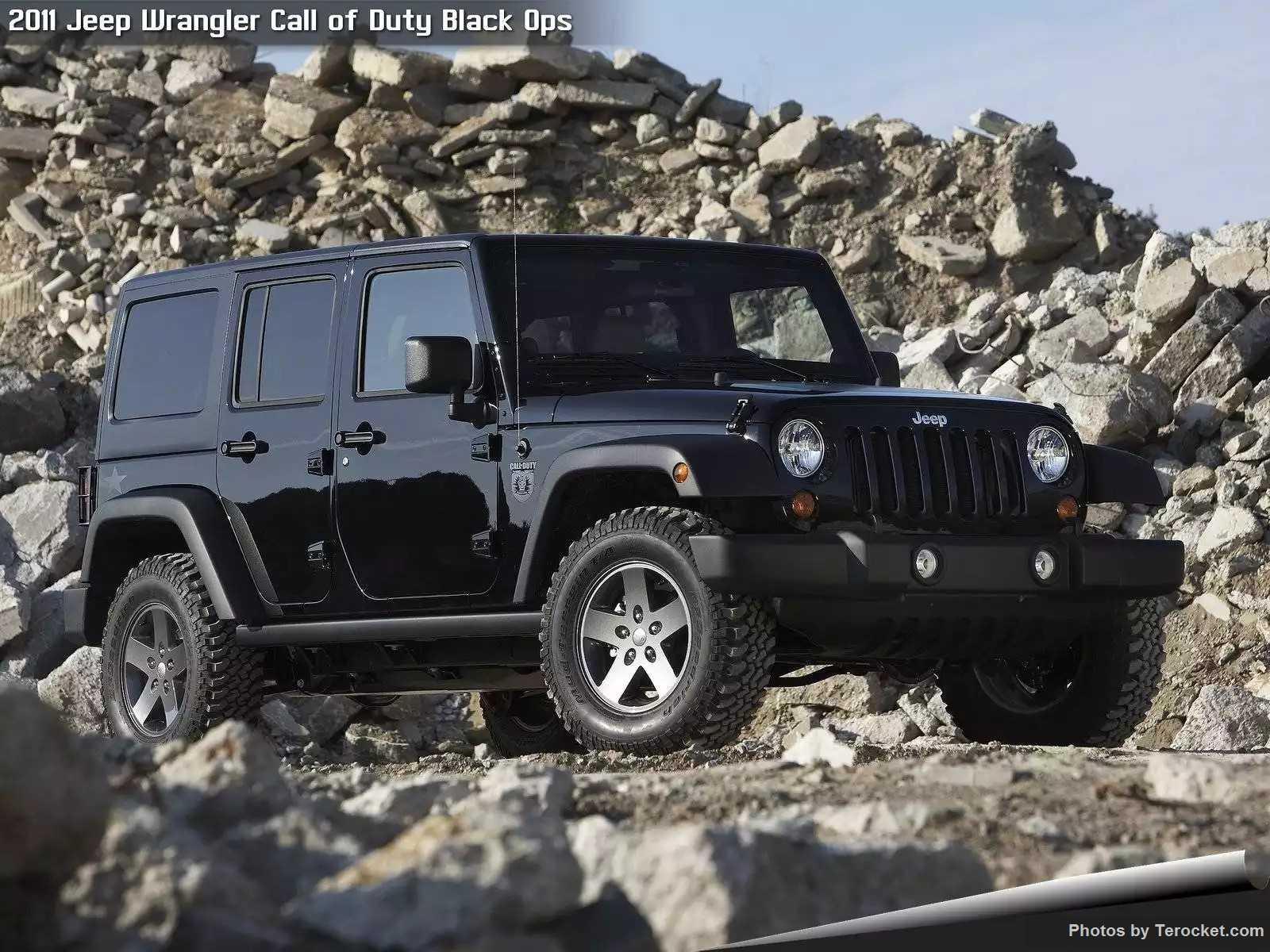 Hình ảnh xe ô tô Jeep Wrangler Call of Duty Black Ops 2011 & nội ngoại thất