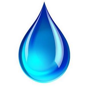 gota agua dibujo: