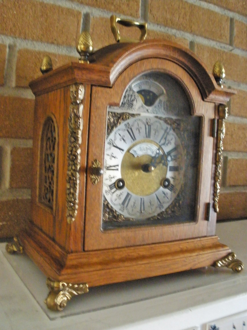 Mariette S Back To Basics Our Dutch Table Clock