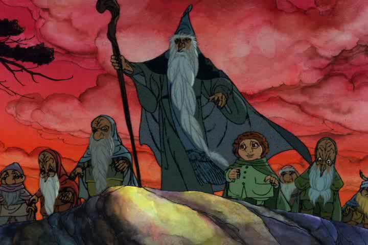 red brick reviews the hobbit 1977
