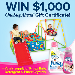 Purex One Step Ahead #sweepstakes #giveaway