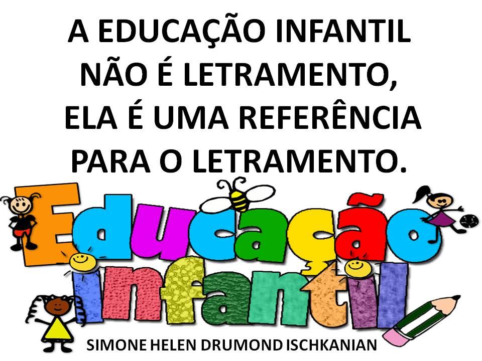 Excepcional Simone Helen Drumond : EDUCAÇÃO INFANTIL (10 CARTAZES) GG02
