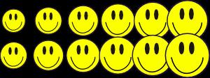 smileys hechos con inkscape