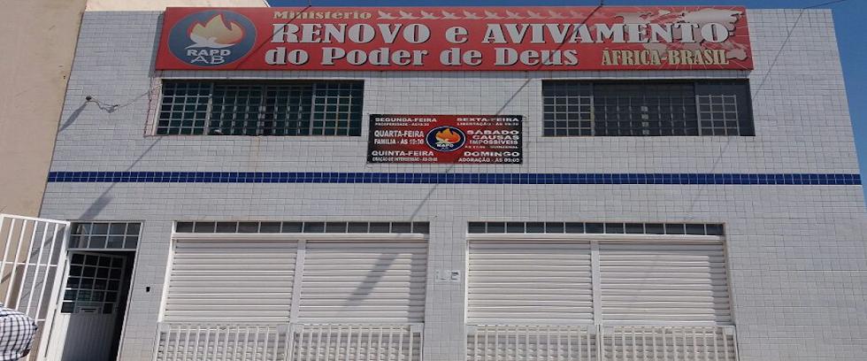 Igreja Sede - Endereço: Quadra Comercial 1, Loja 2, Residencial Santos Dumont, Brasília - DF